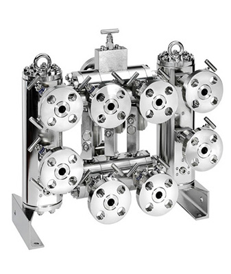 BOLLFILTER Duplex BFD-C/P Double Block and Bleed