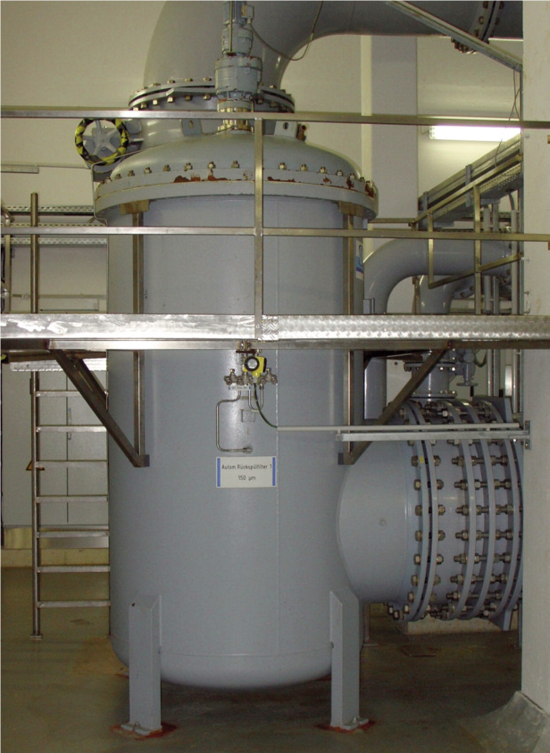 BOLLFILTER automatic at WAG water treatment plant
